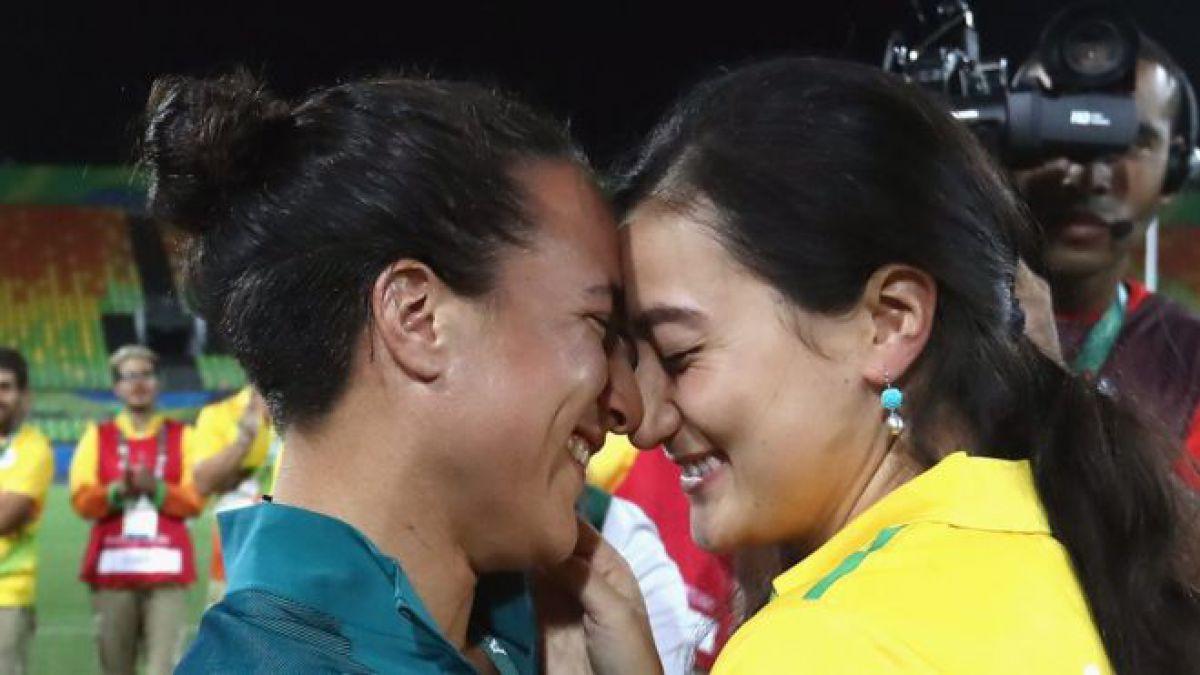 La enternecedora propuesta de matrimonio en el rugby femenino durante los Juegos de Río 2016