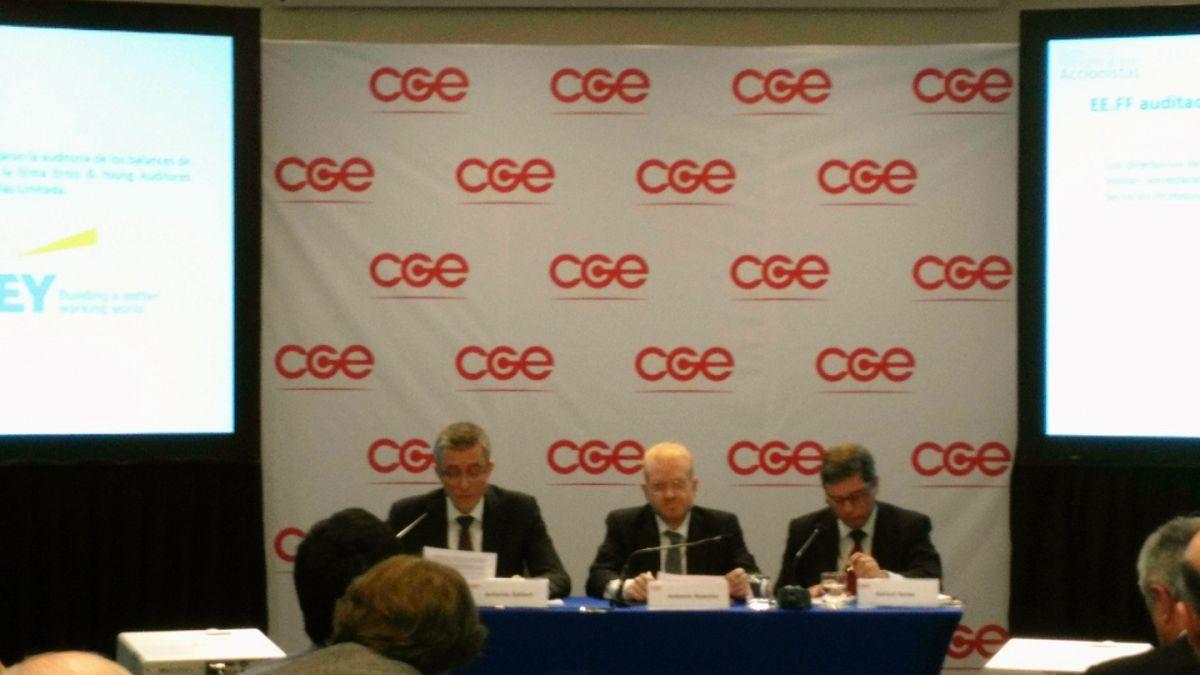 Junta de accionistas aprobó fusión de Gas Natural Fenosa y CGE