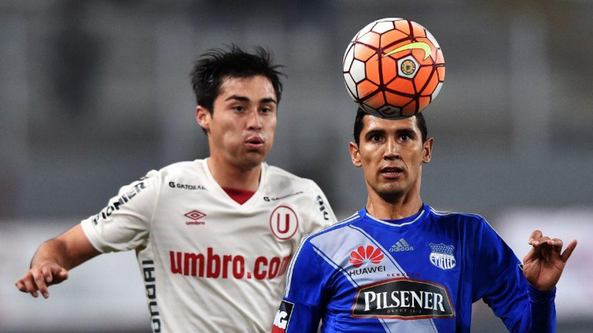 Copa Sudamericana: Emelec golea 3-0 a Universitario de Perú
