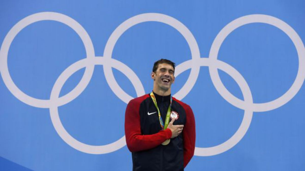 Michael Phelps logra en Río 2016 su medalla número 25 (21 son de oro y sigue contando)