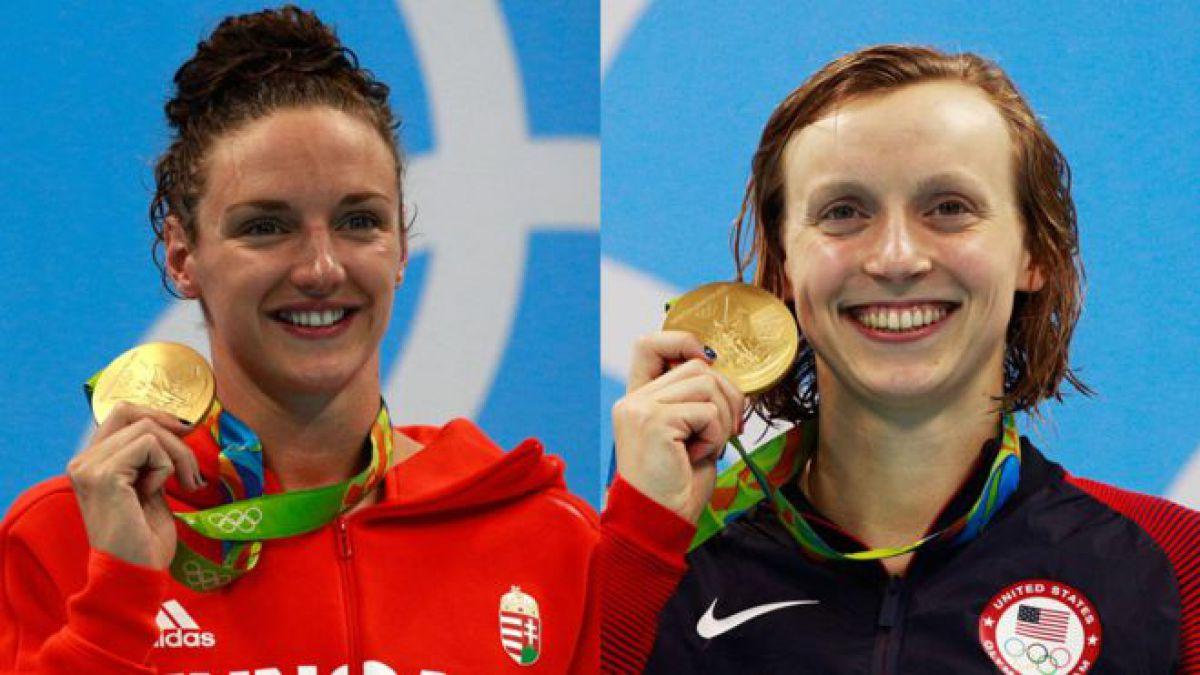 De no ser porque Michael Phelps acapara todas las miradas, en la piscina olímpica de Río se hablaría de dos mujeres que son las protagonistas de las competencias