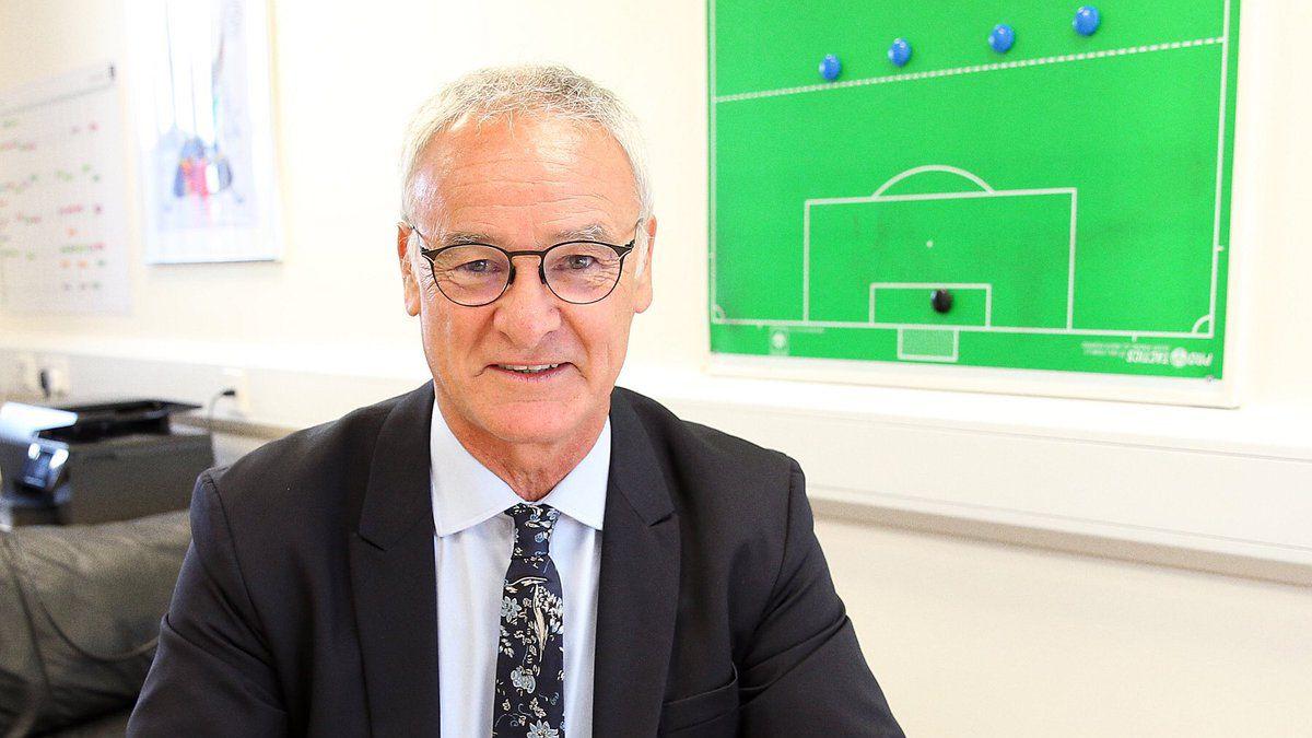 Claudio Ranieri extiende contrato con el Leicester City por cuatro años