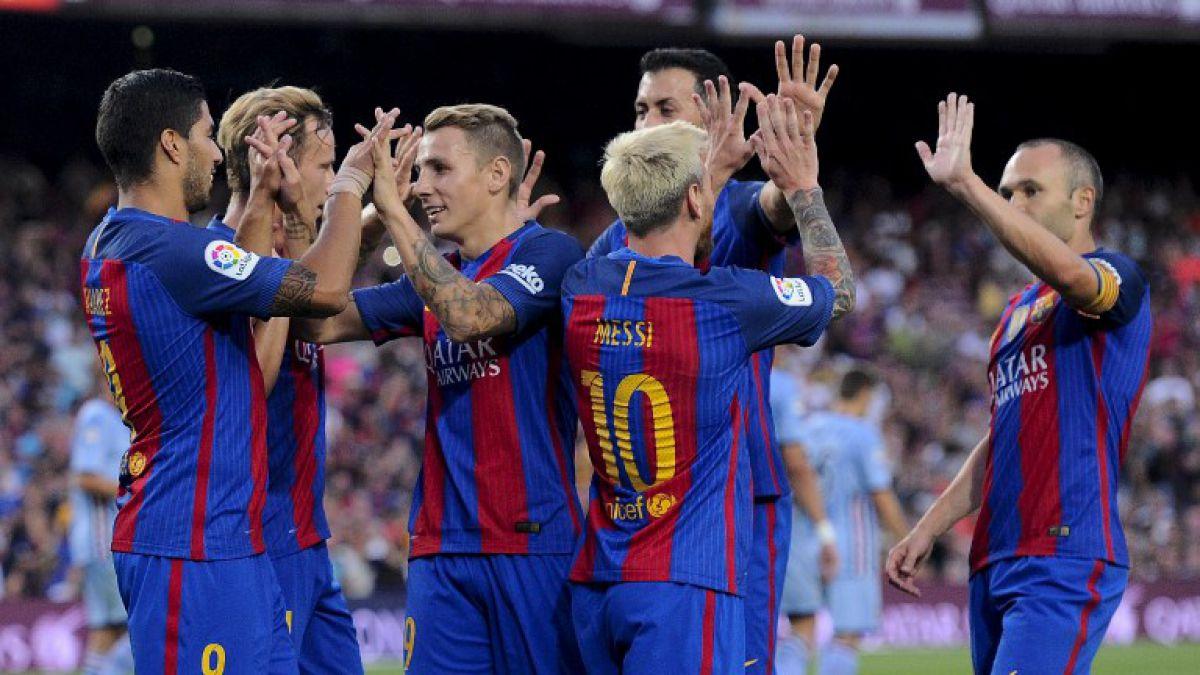 Claudio Bravo fue titular en victoria del Barcelona en la Copa Joan Gamper