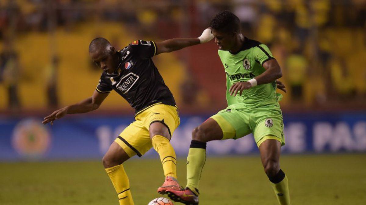 Barcelona de Ecuador y Zamora de Venezuela empatan 1-1 en la Sudamericana