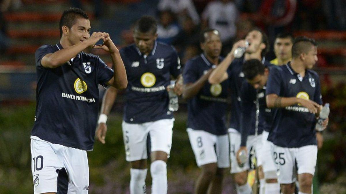 Católica de Ecuador toma ventaja al empatar 1-1 ante Independiente de Medellín