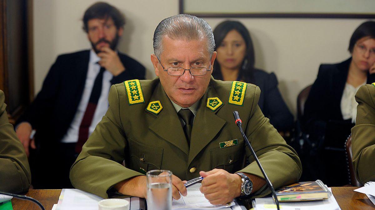 General director de Carabineros explicó dichos tras llamada de ministro Fernández — Dipreca