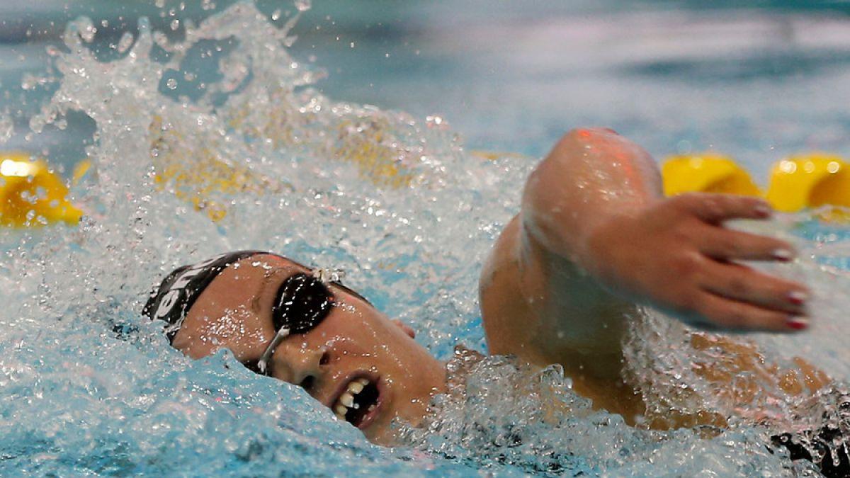 Kristel Köbrich se queda fuera de la final de 800 metros libres en Río 2016
