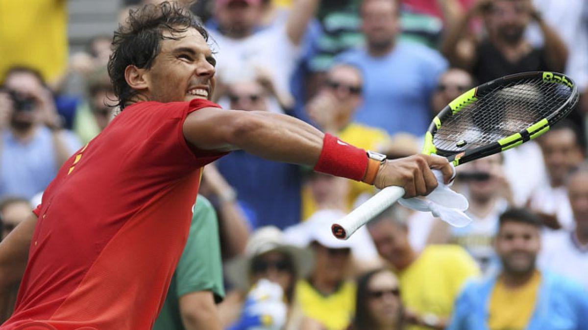 Rafael Nadal se retira del dobles mixto del tenis olímpico