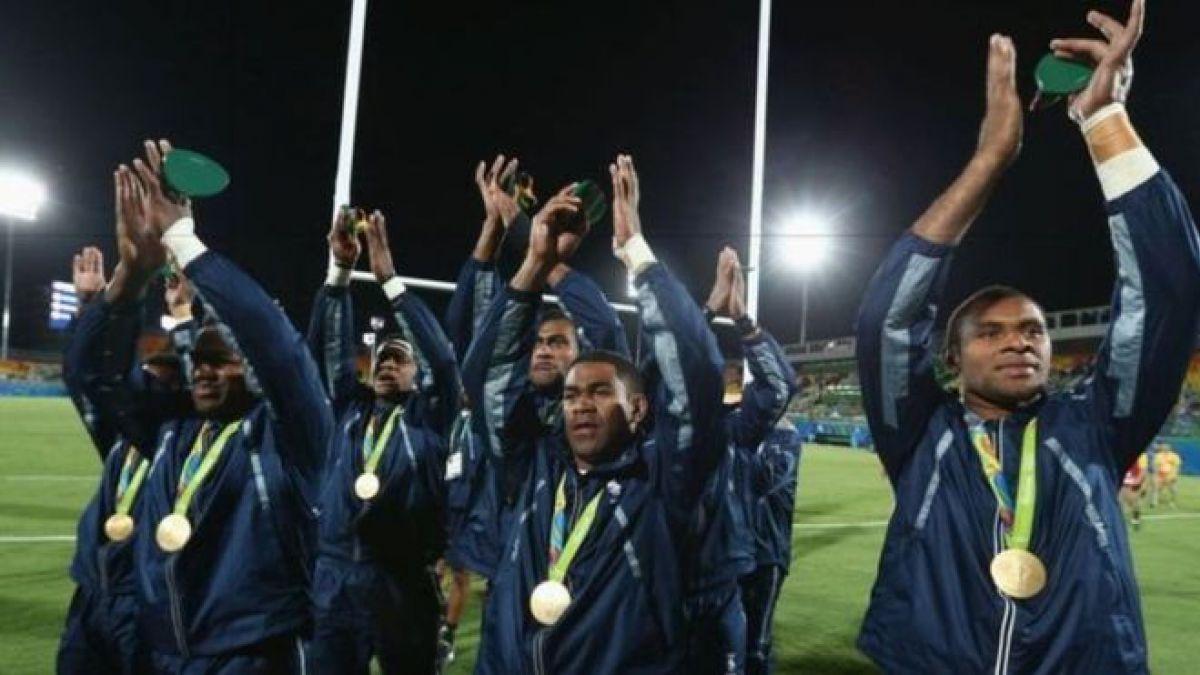 Carceleros, botones y cortadores de caña: el equipo de rugby que ganó la primera medalla olímpica