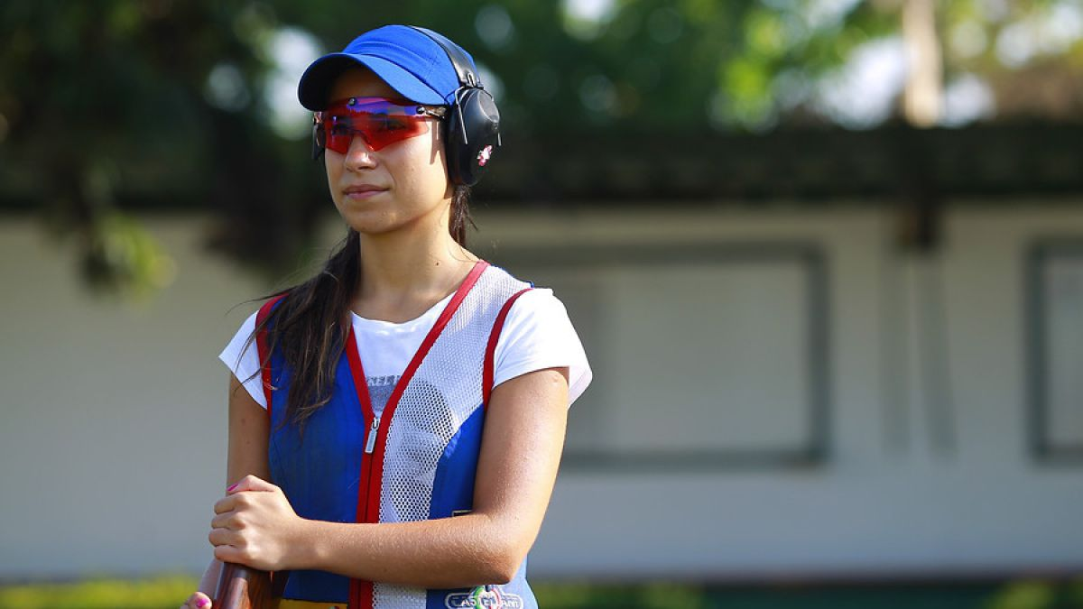 Francisca Crovetto queda fuera de la final olímpica en tiro skeet