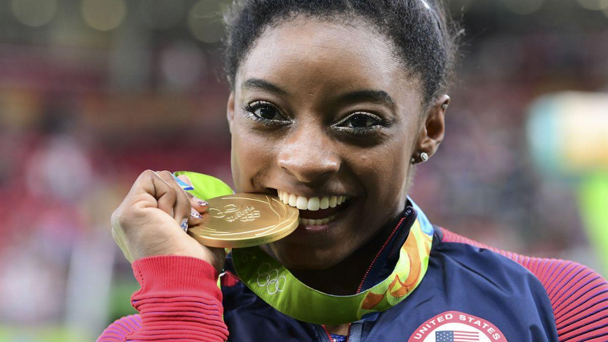 """""""No soy la próxima Usain Bolt o Michael Phelps. Soy la primera Simone Biles"""""""