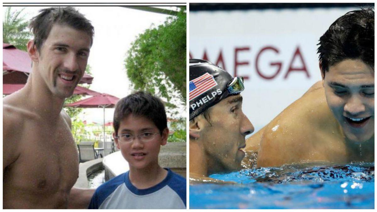La historia del singapurense que le arrebató el oro a su ídolo Michael Phelps