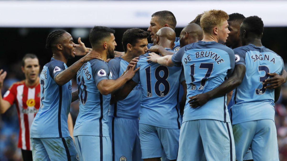 Manchester City de Guardiola debuta con agónico triunfo en la Premier League