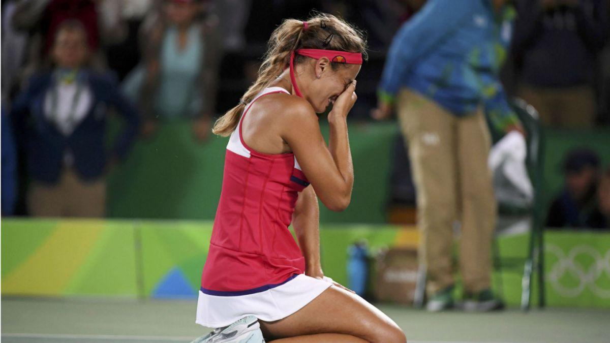 Mónica Puig es campeona olímpica de tenis y consigue primer oro de la historia para Puerto Rico