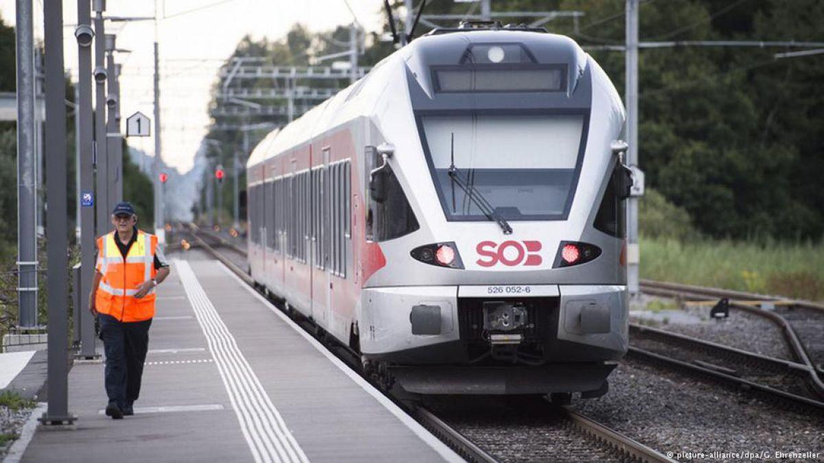 Hombre armado con cuchillo ataca a 6 personas en Suiza