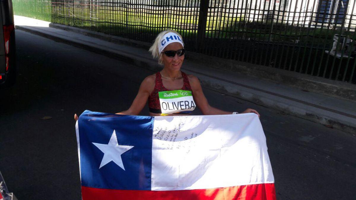 """Erika Olivera tras su 5° maratón olímpica: """"Viví la prueba con emoción y nudo en la garganta"""