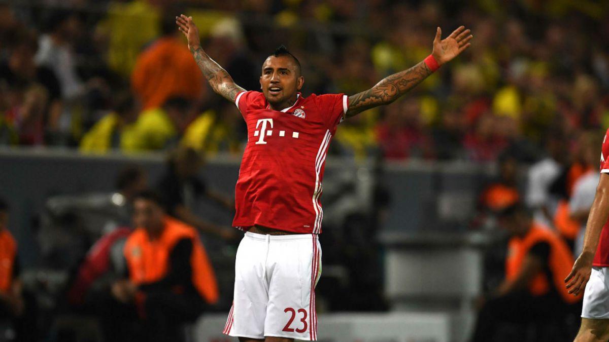 Bayern Münich gana la Supercopa de Alemania con un gol de Arturo Vidal