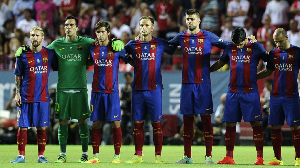 Barcelona y Bravo dan el primer golpe en la Supercopa de España ante el Sevilla de Sampaoli