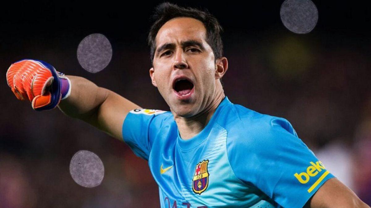 En España apuntan a la inminente partida de Claudio Bravo al Manchester City