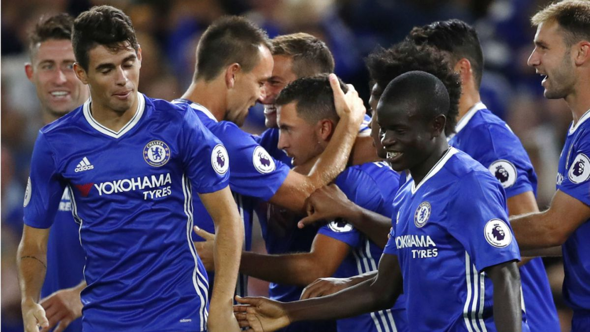 Chelsea de Antonio Conte debuta con una victoria en la Premier League