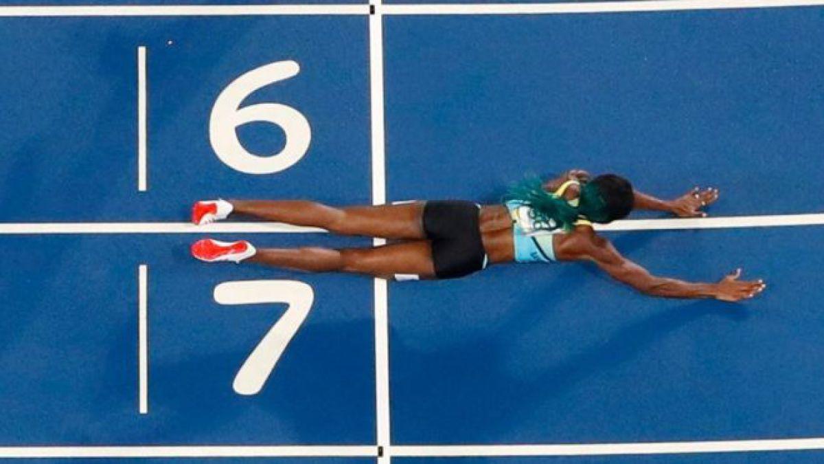 Shaunae Miller, la corredora de Bahamas que ganó el oro olímpico en 400 metros con un clavado