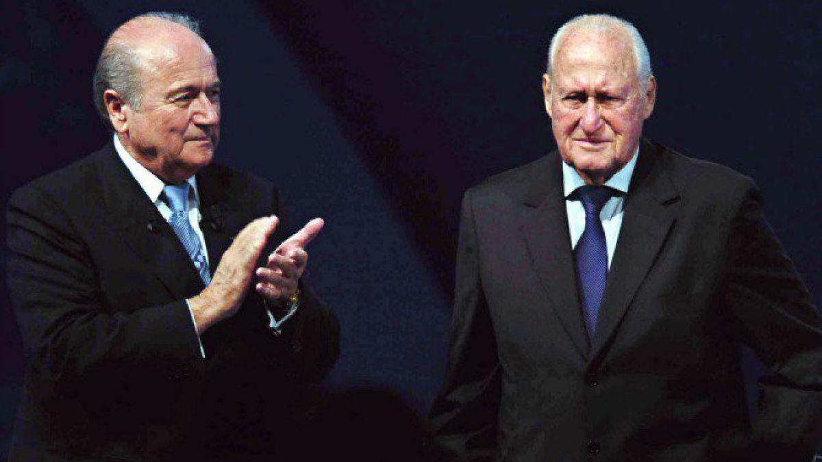 Blatter en el adiós de Havelange: Transformó el fútbol en un lenguaje universal