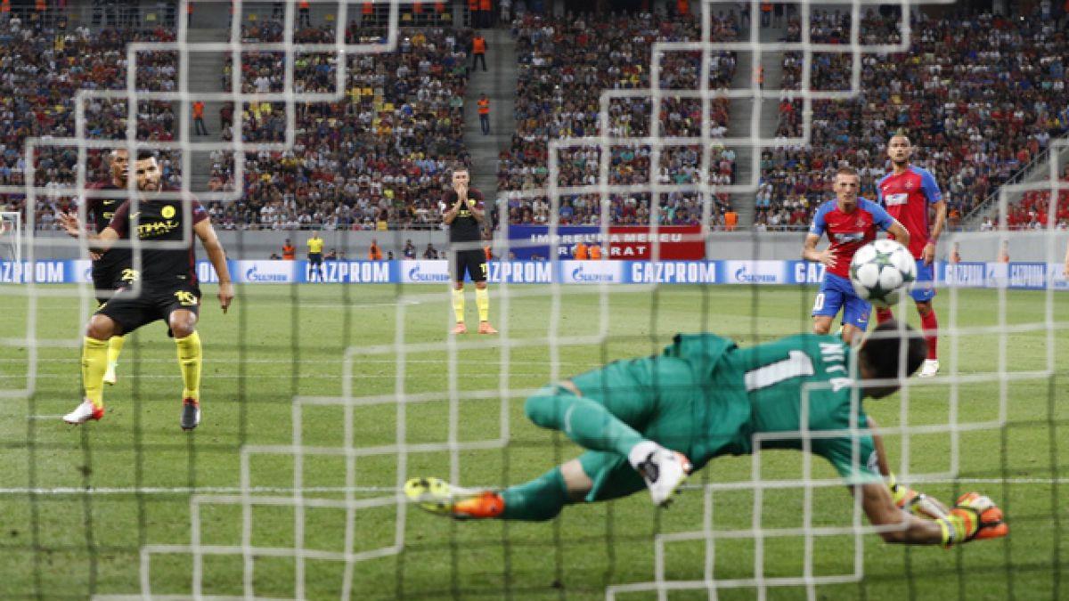 Increíble: Sergio Agüero falla dos penales en menos de 20 minutos