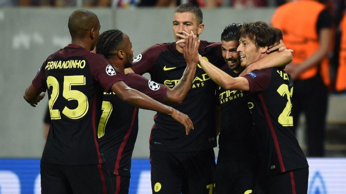 Manchester City sale a confirmar clasificación a fase grupal de Champions