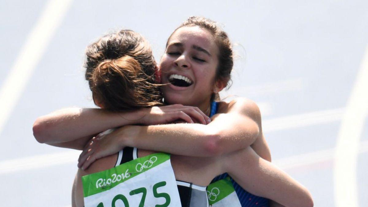 El gesto en la pista atlética que conmovió a todos en los Juegos Olímpicos de Río 2016