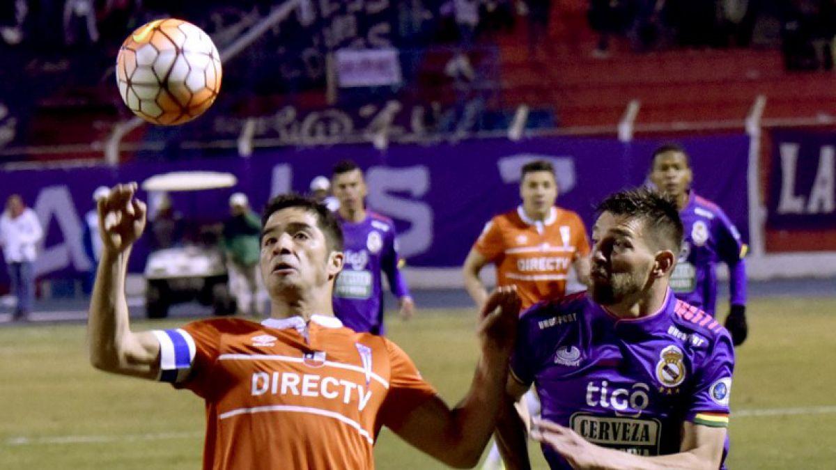 La UC busca remontar serie ante Potosí para seguir con vida en la Sudamericana