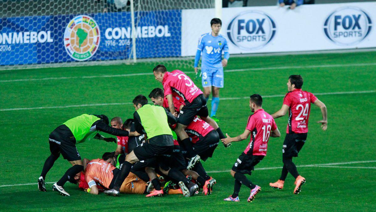 Otro chileno menos: OHiggins eliminado de la Sudamericana tras perder por penales