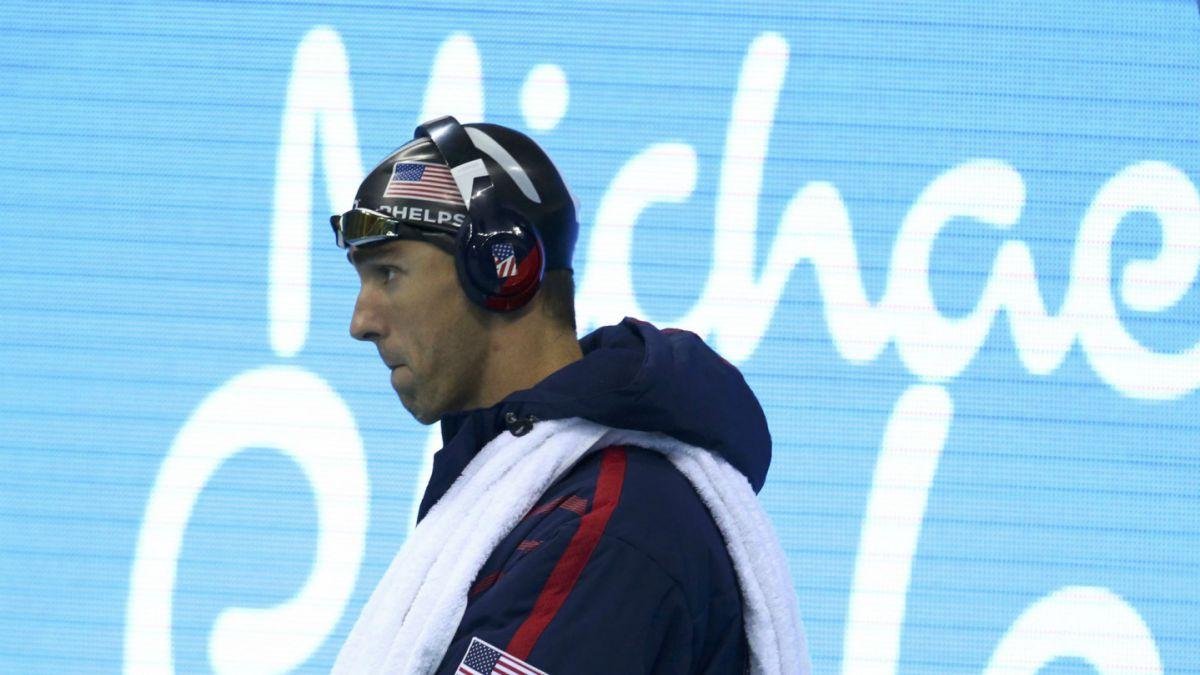 Michael Phelps revela su playlist antes de una competencia