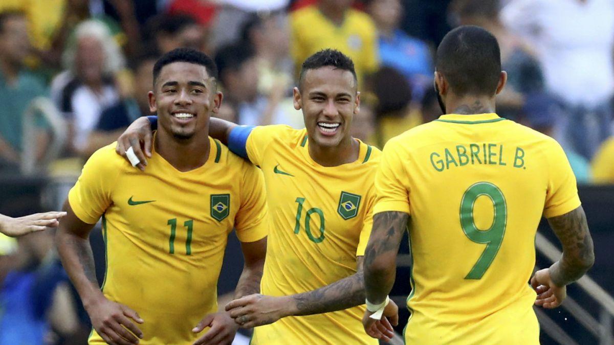 Va por el oro: Brasil golea a Honduras y avanza a la final del fútbol olímpico