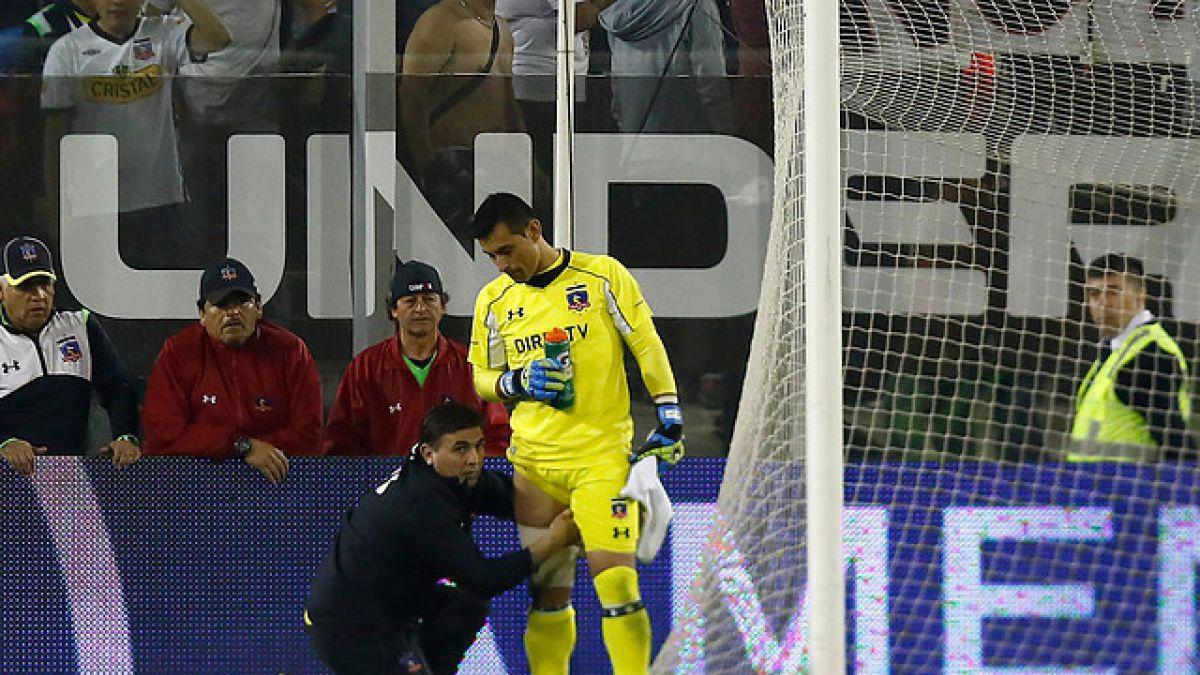 Justo Villar se pierde duelo con Huachipato tras sufrir recaída de su desgarro