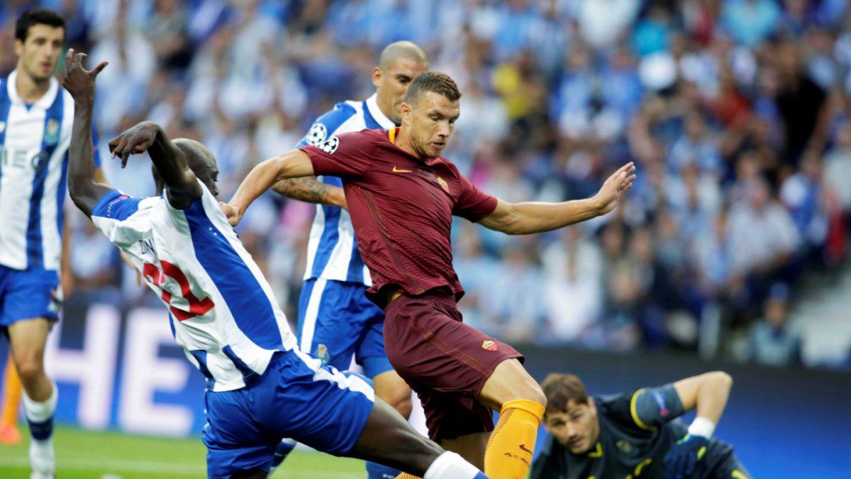 Porto y Roma no se sacan diferencias por Champions League