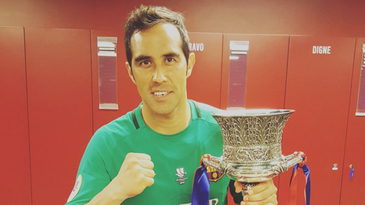 [FOTO] Así celebra Bravo en redes sociales su nuevo título junto a FC Barcelona