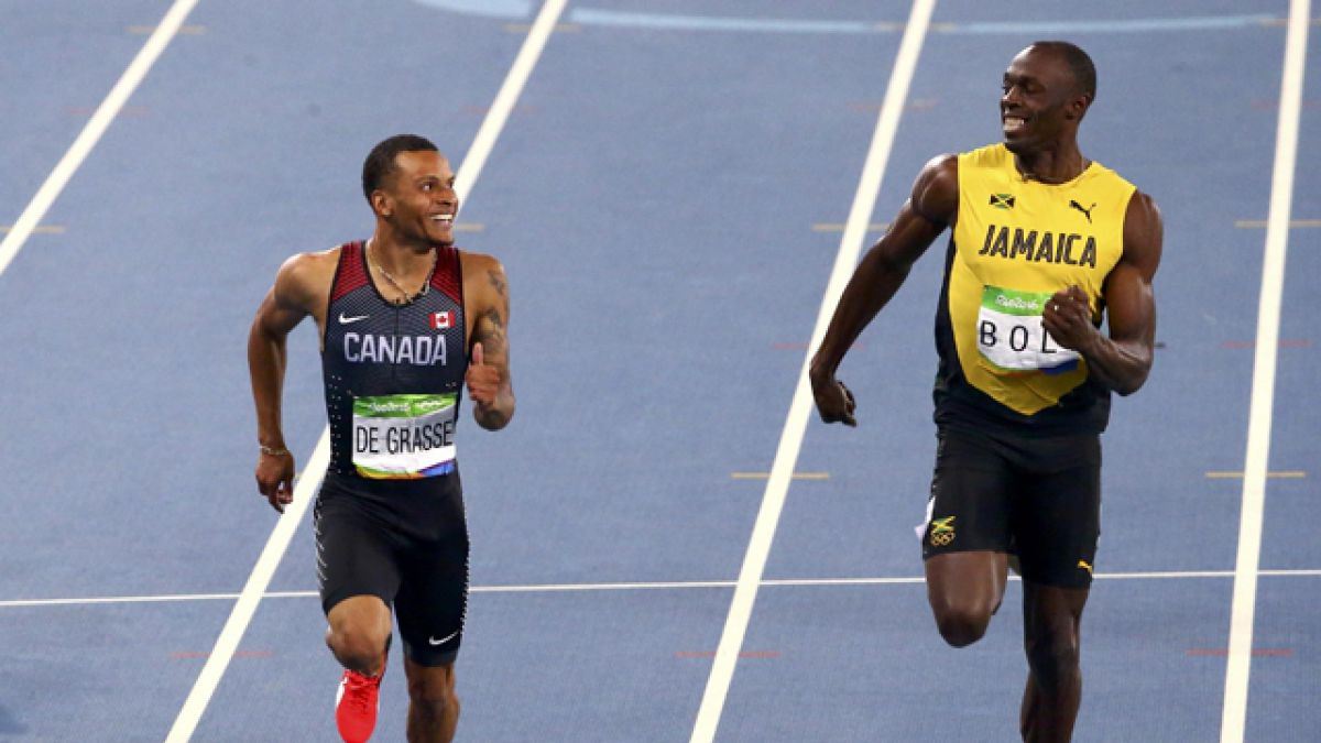 Bolt a la final de los 200 metros de Río 2016, Gatlin se despide