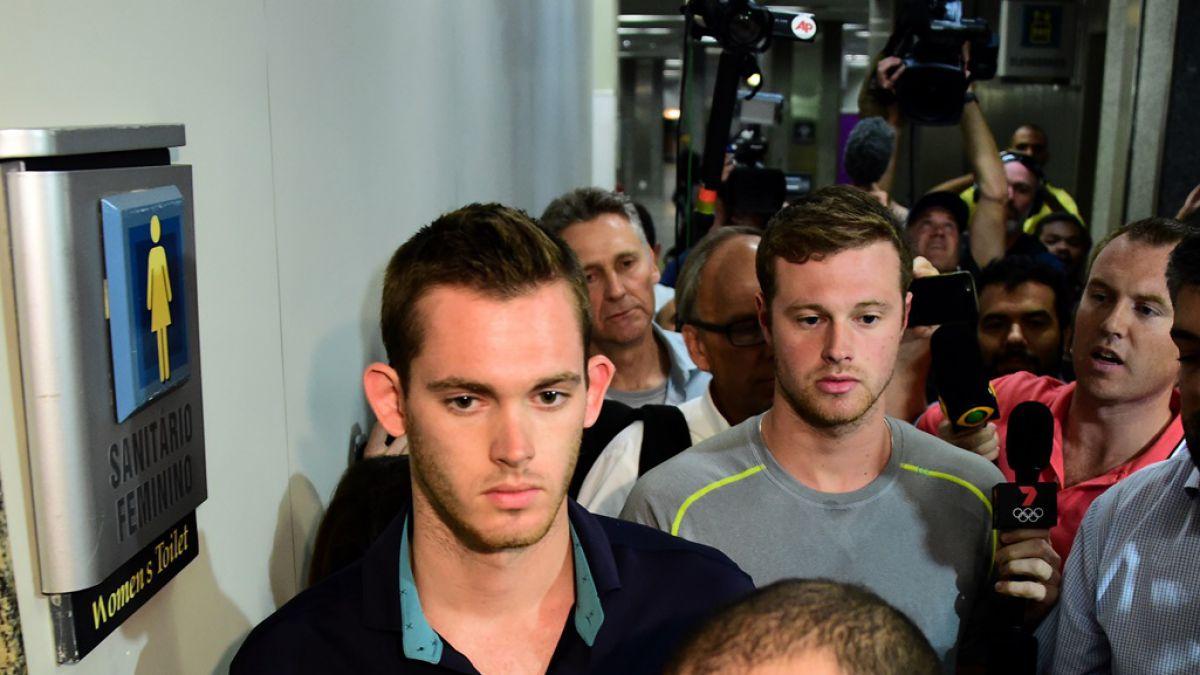 Jack Conger y Gunnar Bentz fueron impedidos de salir de Brasil.