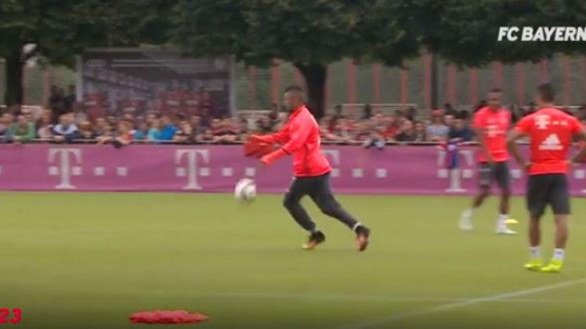 [VIDEO] El golazo de Vidal que pelea como mejor de la pretemporada del Bayern