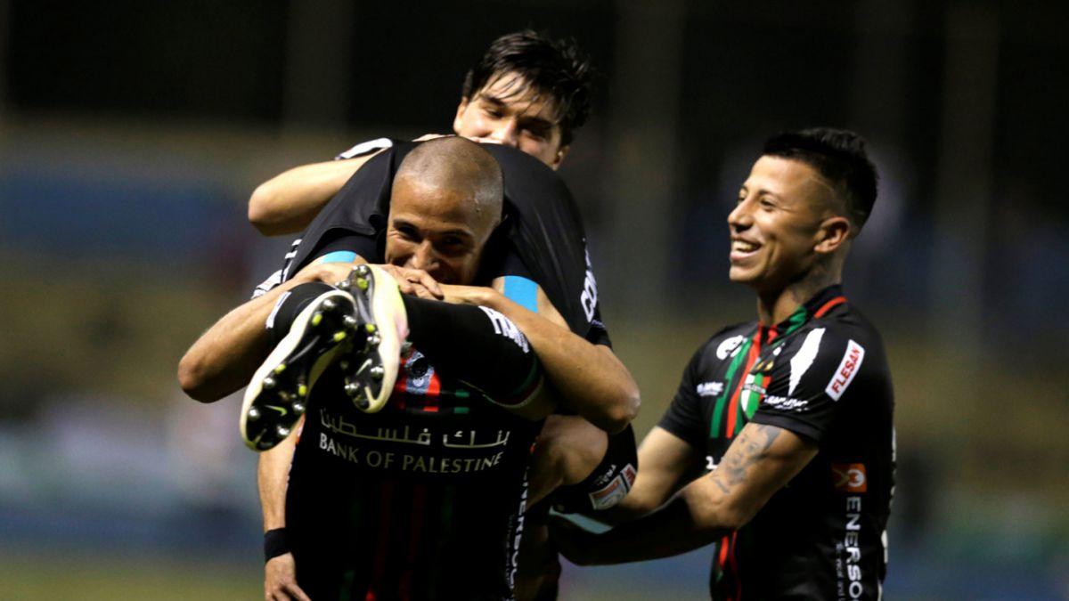 Palestino golea a Libertad en Paraguay y avanza en la Sudamericana