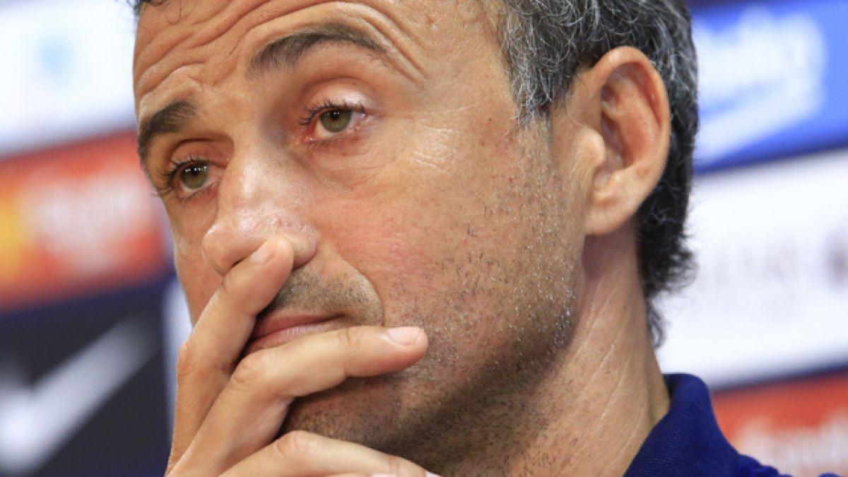 FC Barcelona detiene conferencia de Luis Enrique por preguntas sobre Claudio Bravo