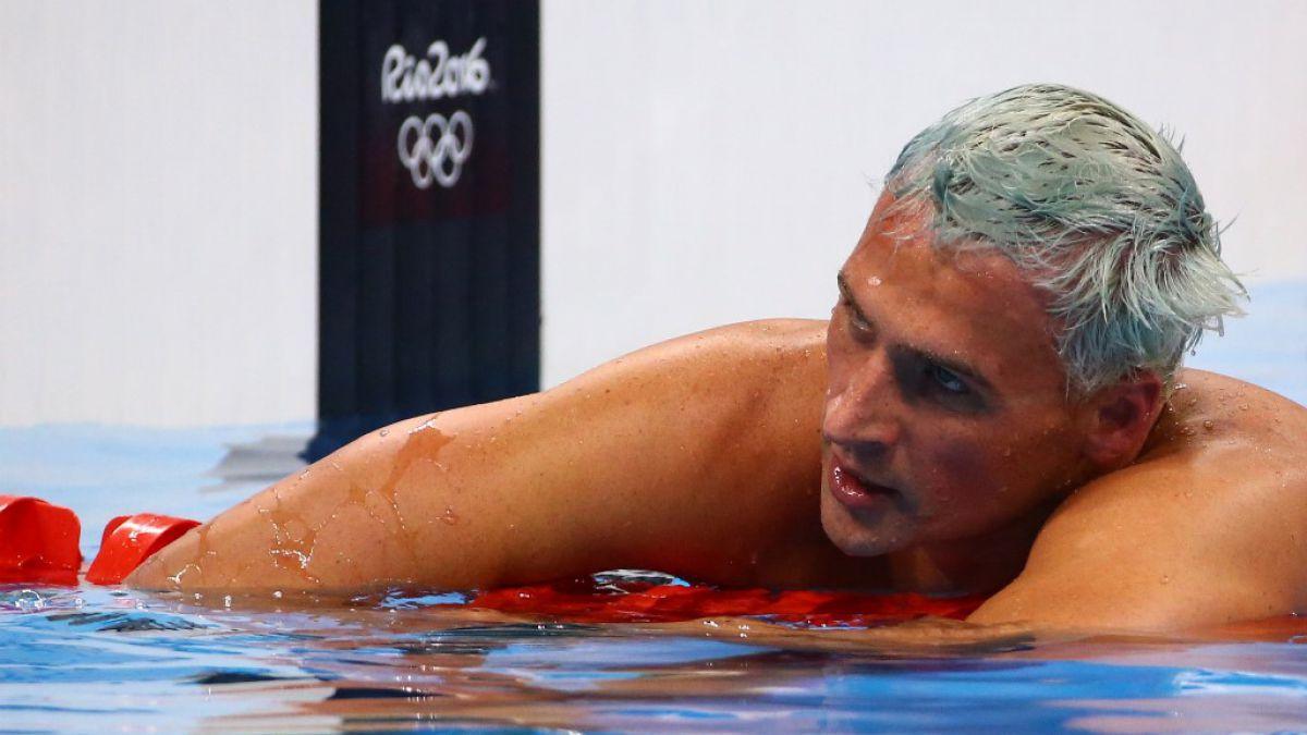 Ryan Lochte escribió una carta de disculpas por su comportamiento en Río.