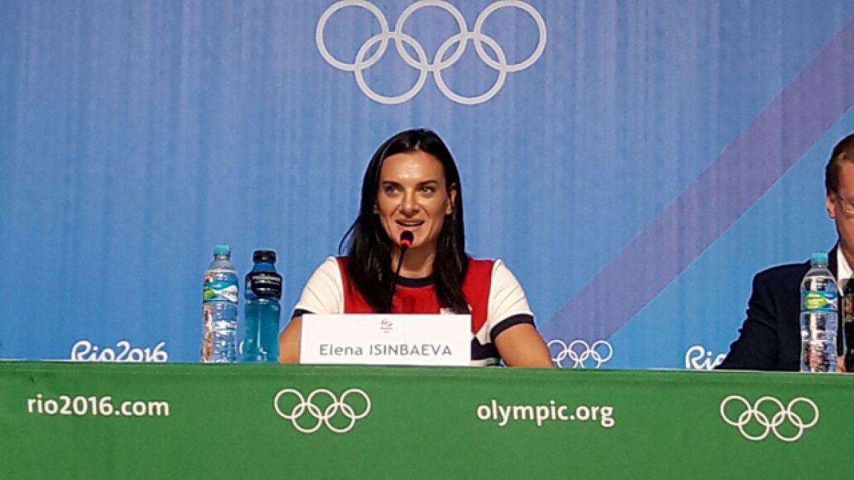 """Isinbayeva anuncia su retiro: """"No le estoy diciendo adiós al deporte, sólo a mi deporte"""""""