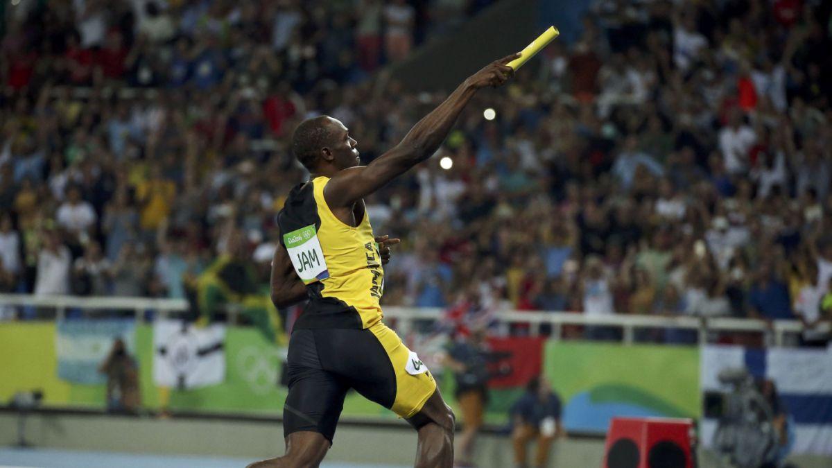 Leyenda olímpica: Usain Bolt gana oro con Jamaica en 4x100 de Río 2016