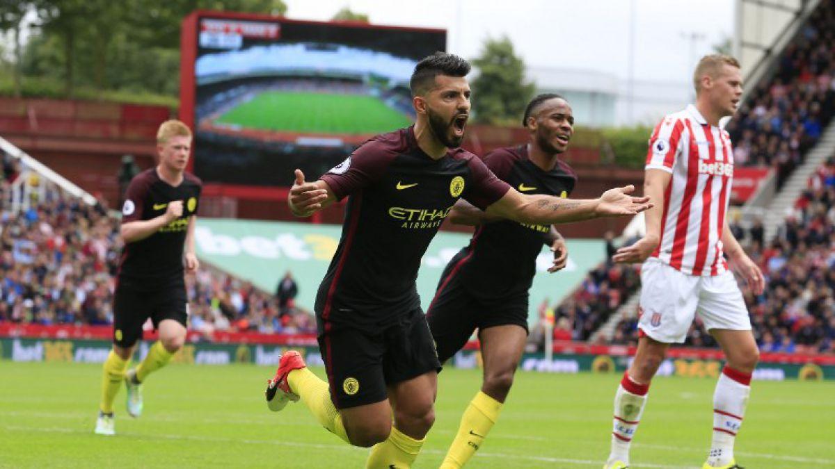 Manchester City confirma buen inicio de temporada goleando a Stoke