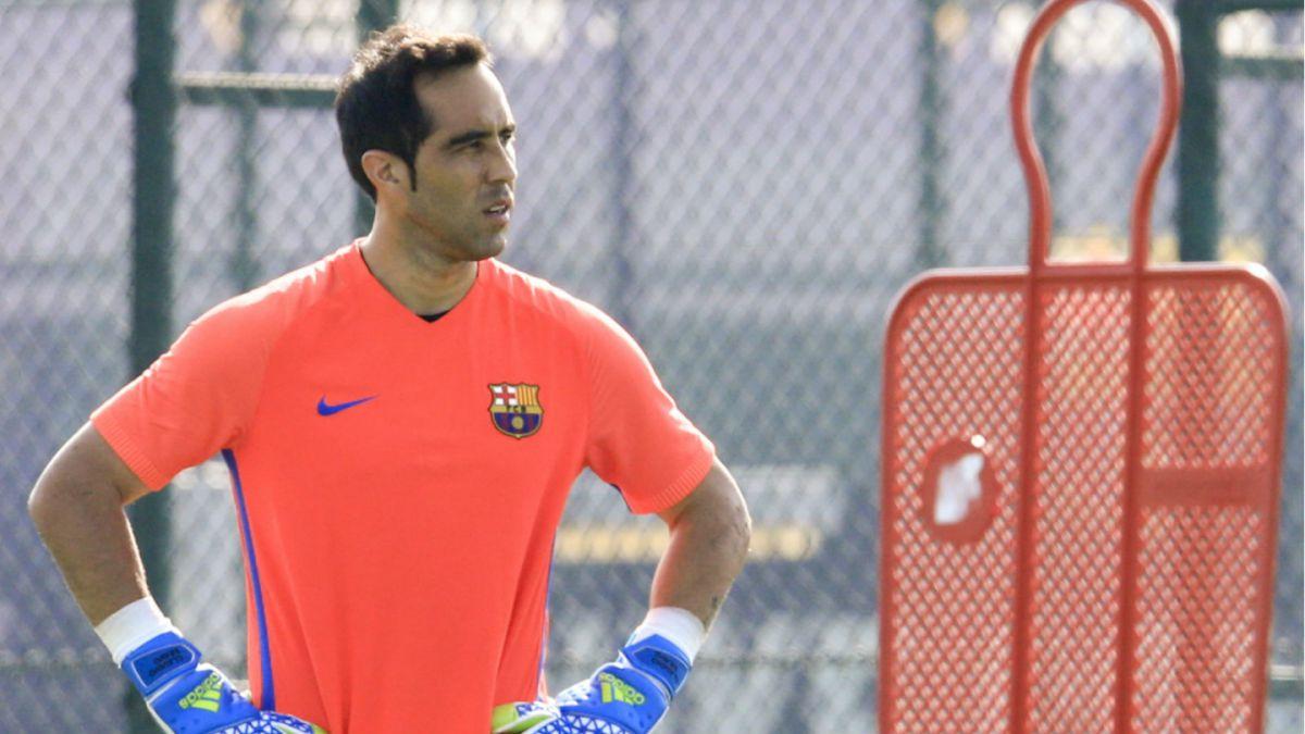 Barcelona confirma principio de acuerdo con Manchester City por Claudio Bravo
