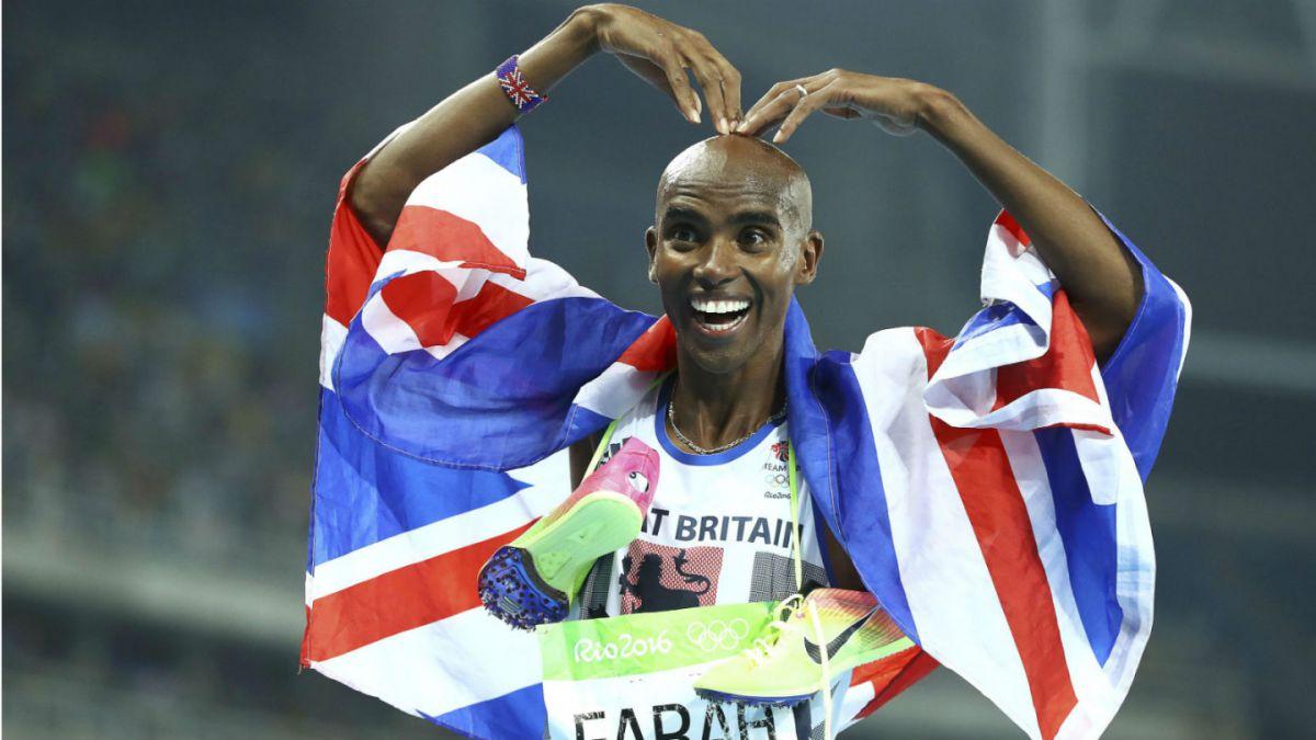 Británico Mo Farah completa segundo doblete olímpico de fondo tras ganar el oro en 5.000 metros