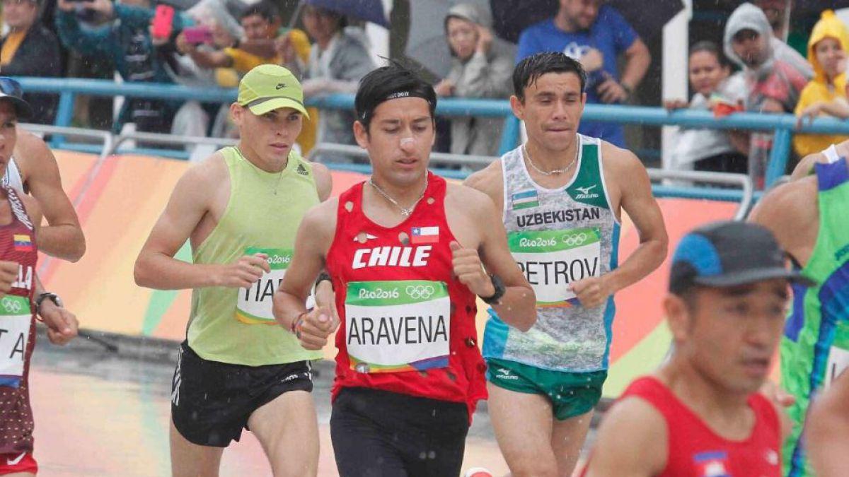 Víctor Aravena termina entre los 50 primeros del maratón de Río