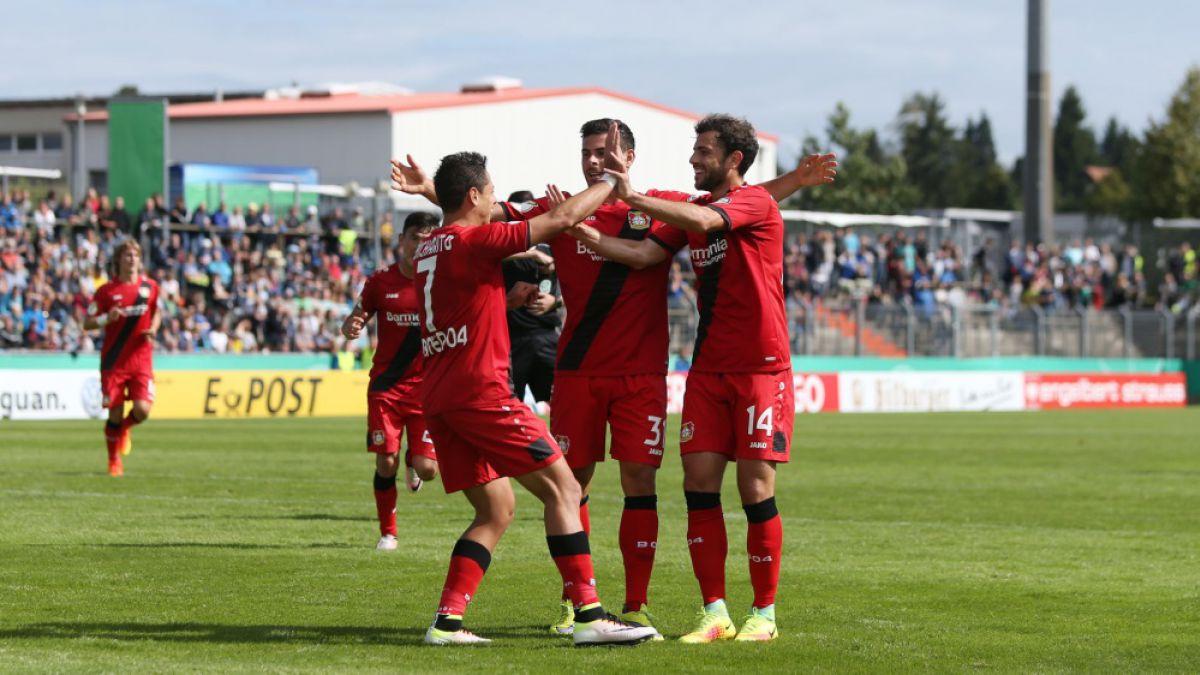 Aránguiz fue titular en ajustada clasificación del Bayer en Copa de Alemania
