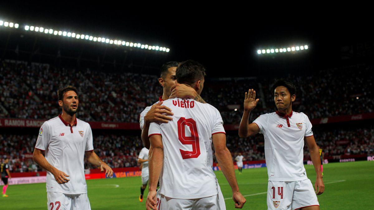 El récord que rompió la guerra de goles con que ganó el Sevilla de Jorge Sampaoli